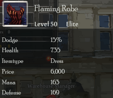 Flaming Robe