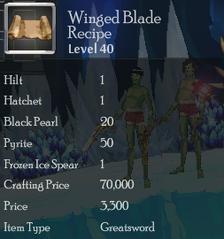 Winged Blade Rec