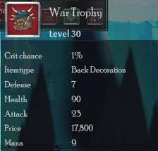 War Trophy