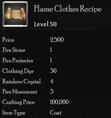 Flame Clothes Rec