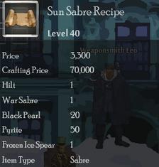 Sun Sabre Rec