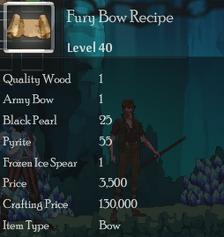Fury Bow Rec