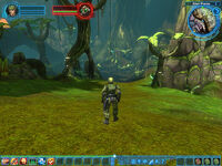 Halo MMO interface