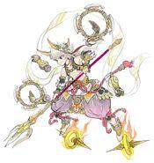 Gear-Nezha, Lotus Prince Rough Sketch 001