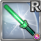 Gear-Green Glow Stick Icon
