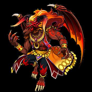 Gear-Ifrit, Fire Rogue Render