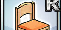 Casual Chair (Orange) (Furniture)