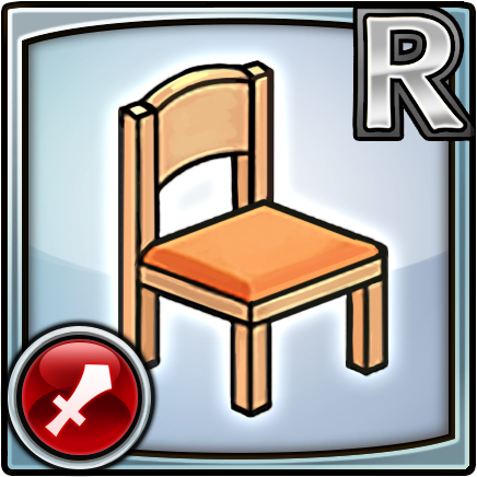 File:Furniture-Casual Chair (Orange) Icon.png