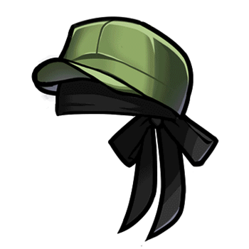 Gear-Military Cap Render