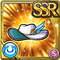 Gear-White Dame's Hat Icon