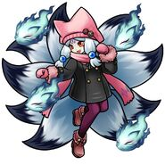 Gear-Casual Style Ninetails Render (Large)