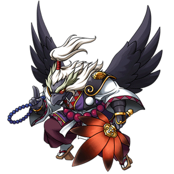 Gear-Crow Tengu Render