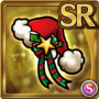 Gear-Red Santa Hat Icon