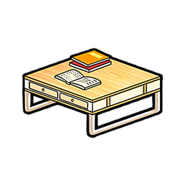 File:Furniture-Casual Table (Beige) Render.png