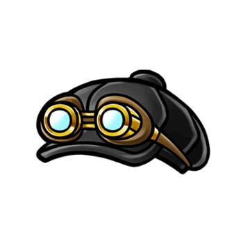 Gear-Casket & Goggles Render