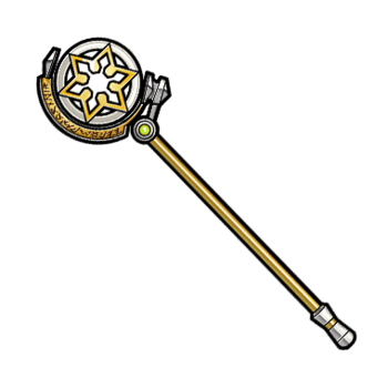 Gear-Magical Circle Staff Render