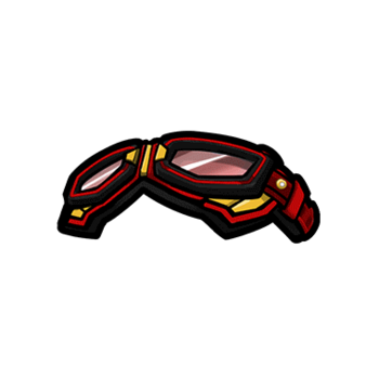 Gear-Red Goggles Render
