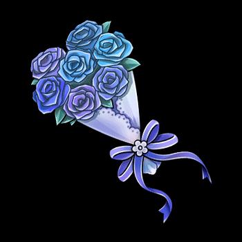 Gear-Blue Bouquet Render