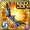 Gear-Black Wing Bow Icon