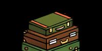 Classic Trunks (Green) (Furniture)