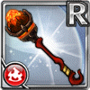 Gear-Fire Staff Icon