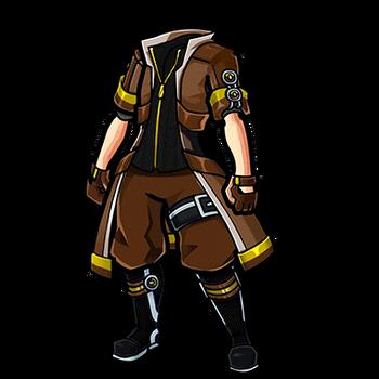 Gear-Classic Coat Render