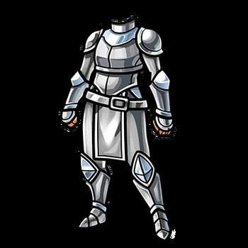 Gear-Silver Mail Render