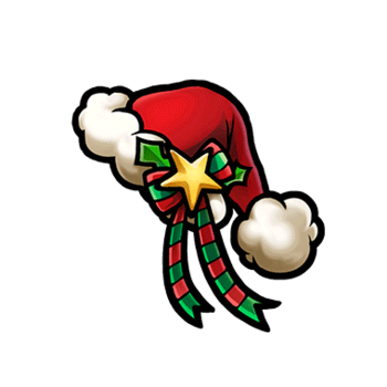 Gear-Red Santa Hat Render