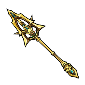 Gear-Thunder Justice Spear Render