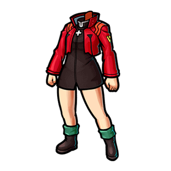 Gear-Misato's Clothes Render