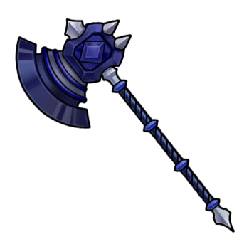 Gear-Obsidian Axe Render