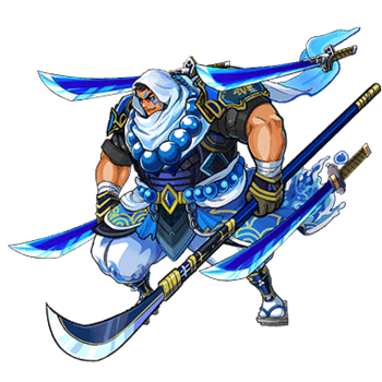 Gear-Loyal Benkei Render