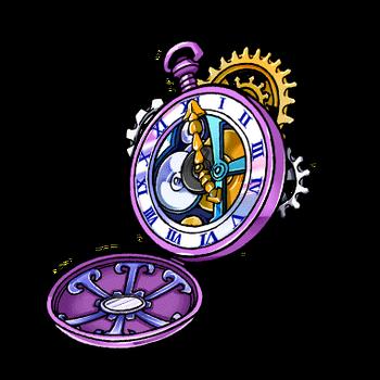 Gear-Kronos' Pocket Watch Render