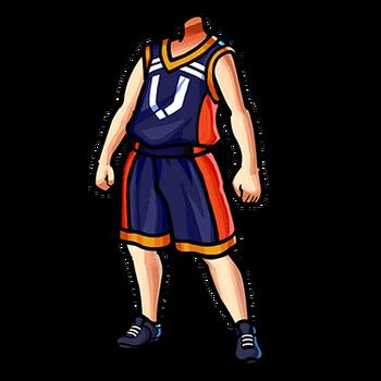 Gear-Basketball Uniform (B) Render
