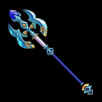 Gear-Staff of Ruin Render
