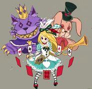 Gear-Wonderful Alice Rough Sketch 001
