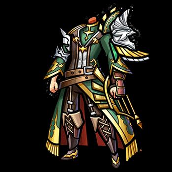 Gear-Overcoat of Trobados Render