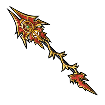 Gear-Scarlet Dragoon Lance Render