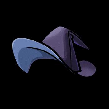 Gear-Wizard Hat Render