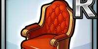 Casino Chair (Red) (Furniture)