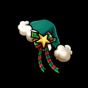 Gear-Green Santa Hat Render