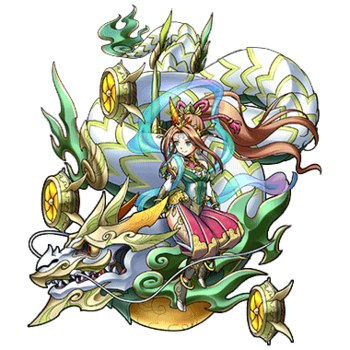 Gear-Shinatobe, Wind Empress Render