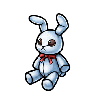 Gear-Bunny Plushie Render