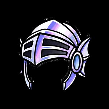 Gear-Platinum Helm Render