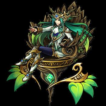 Gear-Tree God Alraus Render