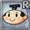 Gear-Cartoon Samurai (Head) Icon