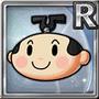 Gear-Cartoon Samurai (Head) Icon