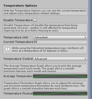 TemperatureOptions