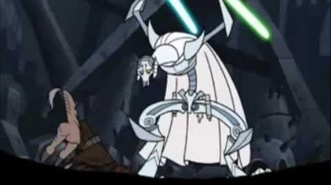 General Grievous vs Jedi (Full scene)