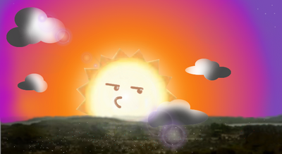 Elmore at sunset by darpower-d4uy1dv